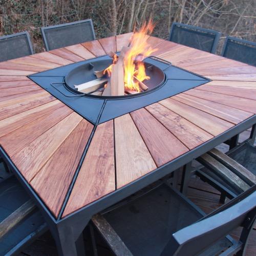 Bolga La Table A Feu Barbecue Brasero Et Plancha Design Et